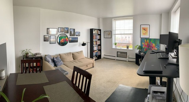 1 BR Sublet, Downtown New Haven, sunny and spacious with beautiful views!