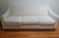 Tufted Modern Couch - Must Go ASAP