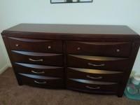 Bedroom set: Dresser and Night Stand