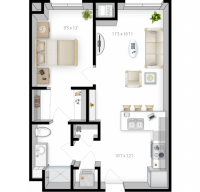 The Bridges - Dinkytown 1 Bedroom apartment for sublease