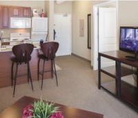 Subleasing 1 bedroom in 4BR 4BA Apartment - The Courtyards Student Apartment