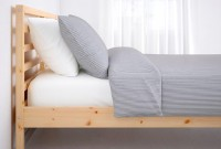 Twin wooden Bed with slates