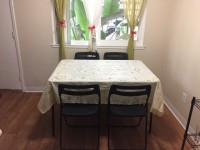 4 Piece dining set - foldable