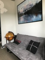 **Luxury Furnished Bedroom with Walk-in Closet** - 3 Bed 2 Bath, Radian Apartments