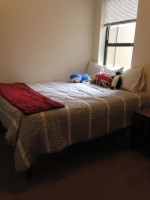 1 br/bath in a 4 bedroom apartment