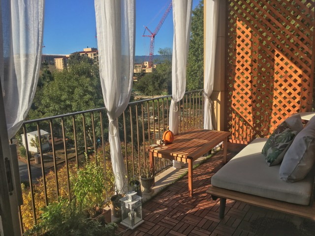 Furnished 1 Bedroom/1 Bath Amazing Balcony Full Privacy