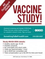 Vaccine Study!