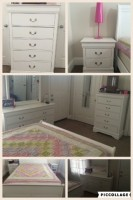 4 piece Queen bedroom set (including mattress and box spring)