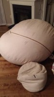 Lovesac bean bag couch sofa