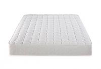 Queen sized mattress + metal bed frame.