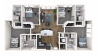 Tower 5040 private bdrm & bath in a 4bd unit - CASH INCENTIVES