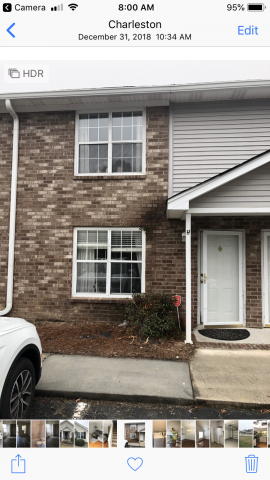 Large Bedroom in 2 bedroom townhouse West Ashley