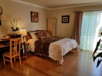 Fully furnished private bedroom and bathroom with balcony, utilities included