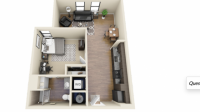Apartment relet from August to July 2021