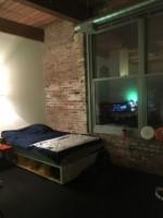 1 Loft sized room available near the city