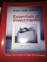 Essentials of Investments Ninth Edition, Custom Value Edition for New York University