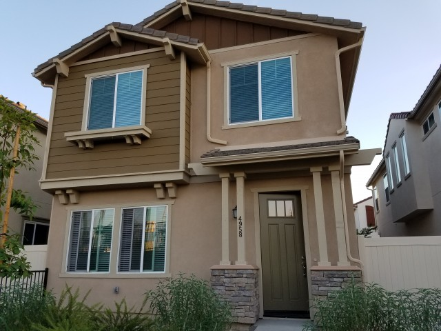 Brand new detached home in gated community
