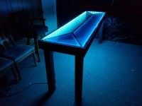 Infinity Mirror Pong Table