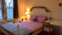 Fully furnished private room 10min from campus