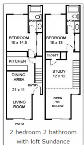 Lease Takeover - Female Roommate Shared Room with Ensuite Bathroom