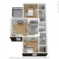 Summer 2018 Male Apartment at The Courtyards