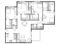 Spring semester apartment lease near James Madison University