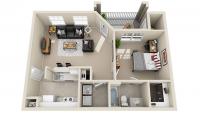 (August 2017) Campus Edge 1 bedroom/1 bathroom