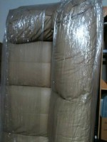 BEIGE LEATHER COUCH AND CHAIR - $400 (NW Gainesville, FL)
