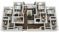 $669.00 - TAKEOVER 6 MONTH LEASE - TAMPA 4050 LOFTS 2/1 - 7/31