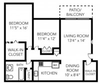 One Bedroom Sublet from May - June Traver Crossing