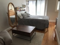Sublet in Sunny Two-Floor Apartment in Davis / Cambridge