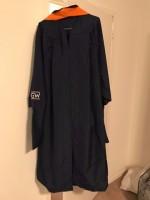 GW Engineering Regalia (Graduation Cap, Gown, and Orange Hood)