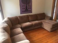 Large, very comfy La-Z-Boy sectional sofa set
