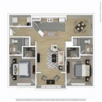 Room in Furnished 2 Bedroom Apartment
