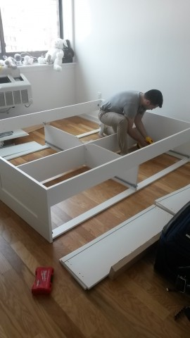 Ikea furniture delivery and assembly service in nyc at for Someone to assemble ikea furniture