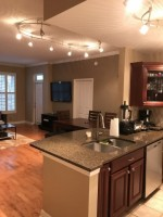 HEART OF MIDTOWN 2 Bed/2 Bath For Rent w/ 400 Sq Ft Patio. ONE BLOCK FROM PIEDMONT PARK, ACROSS THE STREET FROM EINSTIENS AND JOES