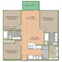 Summer sublet 3 Bedroom Apartment with Parking