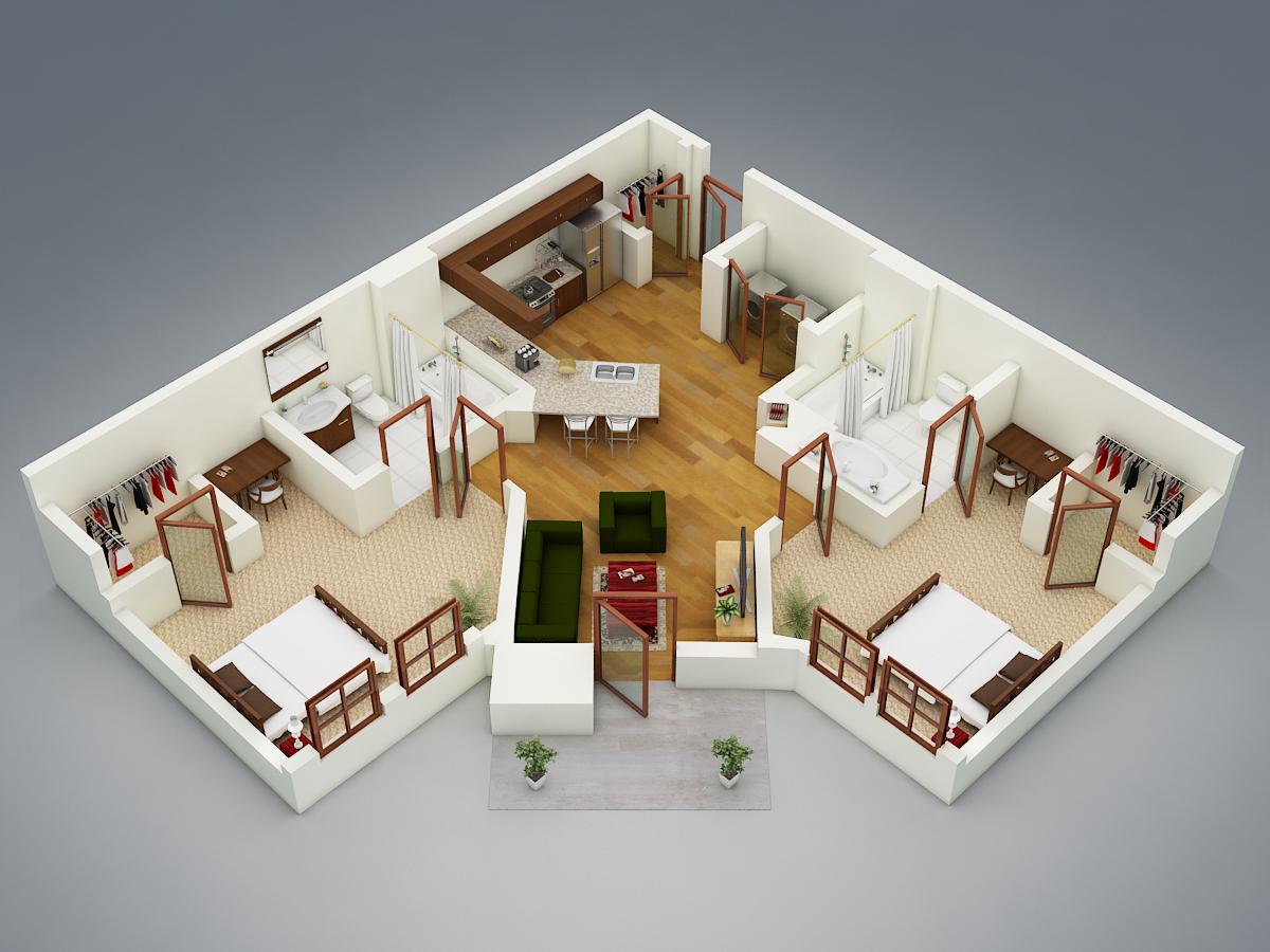 Takeover 2B/2B Private room in Stadium village