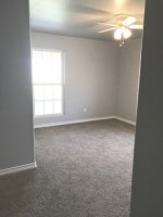 Two rooms available, brand new construction