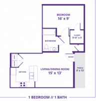 Spring 2019 Sublease - 1 Bedroom Apartment