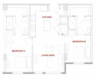 FOUNDRY LOFTS 2 BEDROOM 2 BATHROOM APARTMENT SUMMER SUBLET
