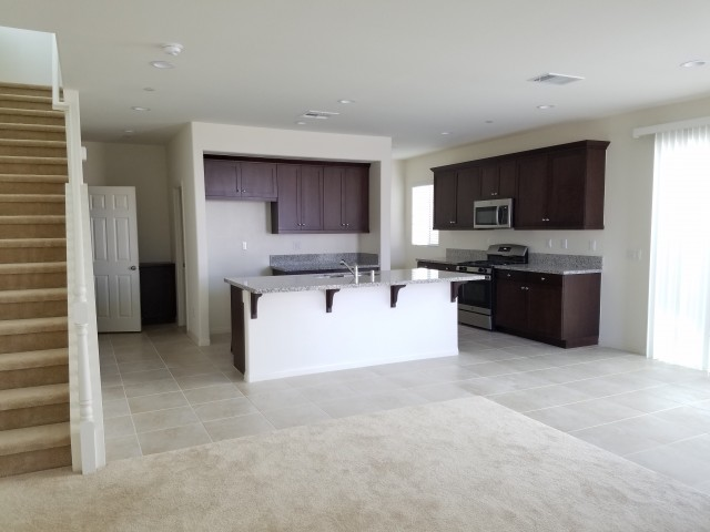 Brand NEW home in gated community with a reserved 3rd parking spot