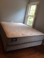 Queen Size Bed For Sale - Less than 1 yr old