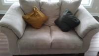 Beige Sofa and love seat