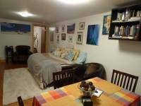 2 BR / 1br+office & 1 bath July Sublet