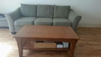 Sofa and coffee table for sale