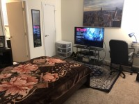 Master Bedroom in a 2Bed/2Bath apartment
