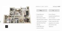 2 Bedroom 2 Bath Luxury (Shared) - Landings at Chandler Crossing