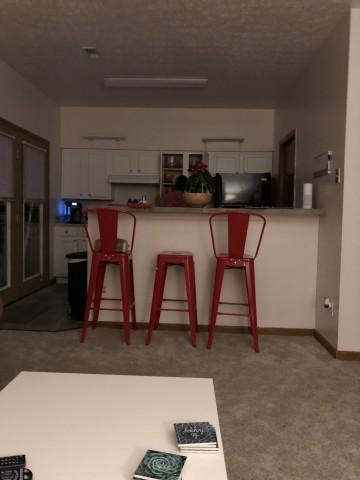 1 Bedroom Sublet in a 3 Bedroom Apartment