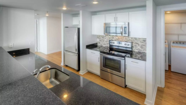 Single Room at Harbor Steps Luxury Apartment Building